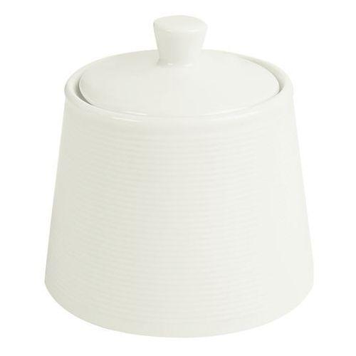 Cukiernica z pokrywą porcelanowa śr. 10 cm Line