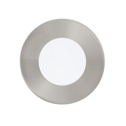 Oczko LAMPA sufitowa FUEVA 1 94518 Eglo podtynkowa OPRAWA ścienna LED 3W okrągły wpust IP20 nikiel satynowany, 94518