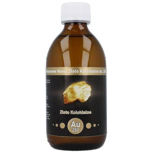 Niejonowe nano złoto koloidalne au 250 - 25 ppm 300 ml marki Vitacolloids