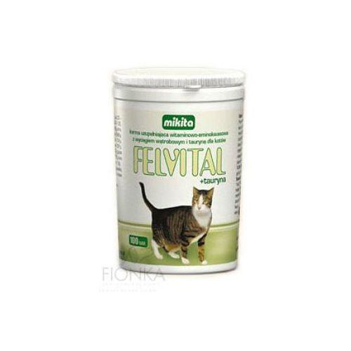 felvital + tauryna preparat witaminowy z tauryną dla kotów marki Mikita