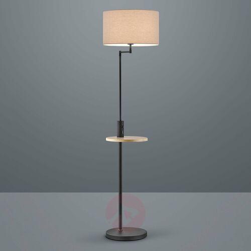Lampa Stojąca Trio Leuchten CLAAS Czarny, 1-punktowy - Dworek/Vintage - Obszar wewnętrzny - CLAAS - Czas dostawy: od 3-6 dni roboczych, 400400132