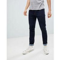 Burton Menswear Skinny Jeans In Mid Wash - Blue, jeansy