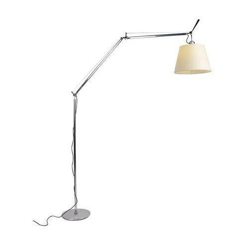 Lampa podłogowa z kloszem - Artemide Tolomeo Mega Terra aluminium
