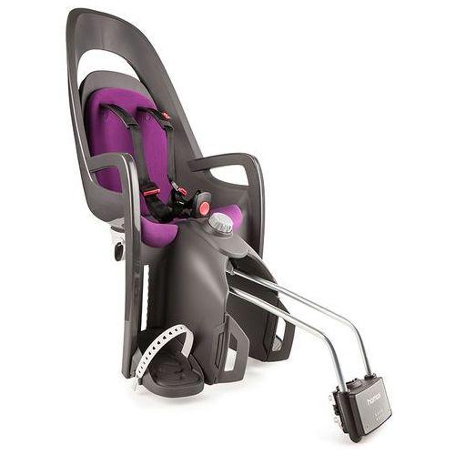 Hamax Fotelik rowerowy caress szary, purpurowa wyściółka