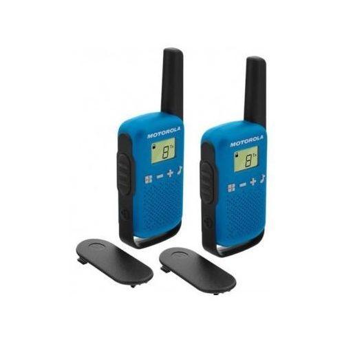 Motorola Radiotelefon talkabout t42 niebieski + zamów z dostawą jutro! + darmowy transport!