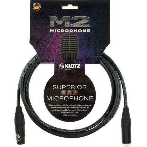 KLOTZ M2FM1-0200 kabel mikrofonowy 2 m z kategorii Kable audio