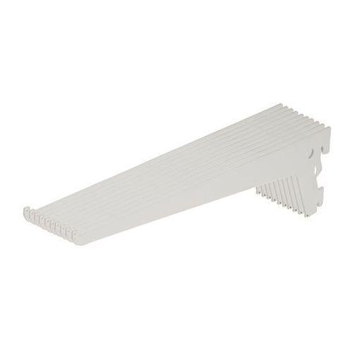 Wspornik pojedynczy lony 30 cm biały 10 szt. marki Form