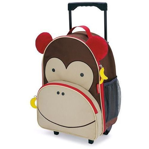 Skip hop - walizka zoo małpa