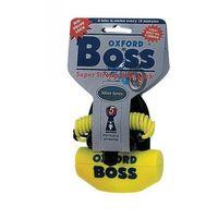 Blokada tarczy hamulcowej boss z przypominaczem i mocowaniem trzpień 14mm kolor żółty gs marki Oxford