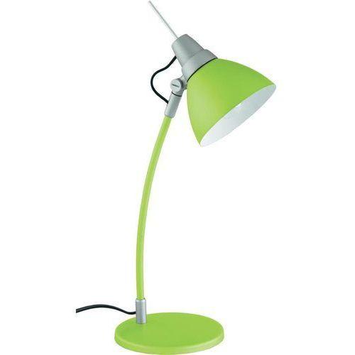 Lampa stołowa Brilliant Jenny 92604/04, E14 x 1, 40 W, 230 V, (ØxW) 15 cmx43 cm, zielony (4004353059728)