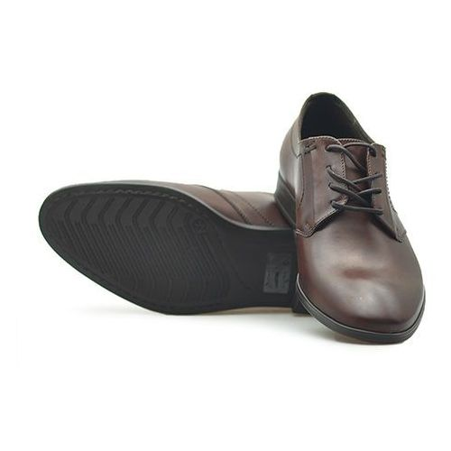 Pantofle Badura 7674 Brązowe lico, kolor brązowy