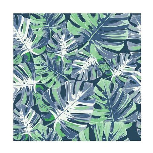 Panel kuchenny szklany Monstera cold 60 x 60 cm Alfa-Cer