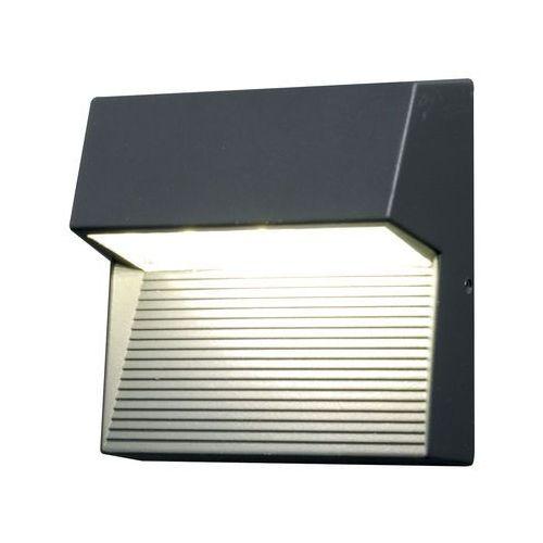 Zewnętrzna LAMPA ścienna FREYR SQ Elstead kwadratowa OPRAWA kinkiet LED 6W tarasowy outdoor IP54 grafitowy
