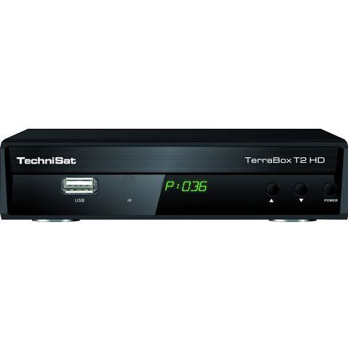 Tuner TV TECHNISAT TerraBox T2 HD Czarny (4019588917408)