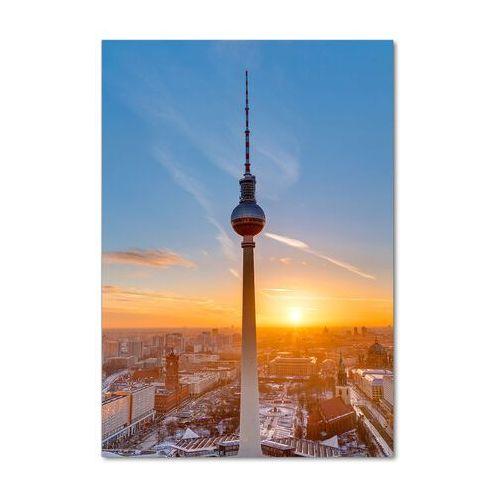 Foto obraz na szkle Wieża telewizyjna