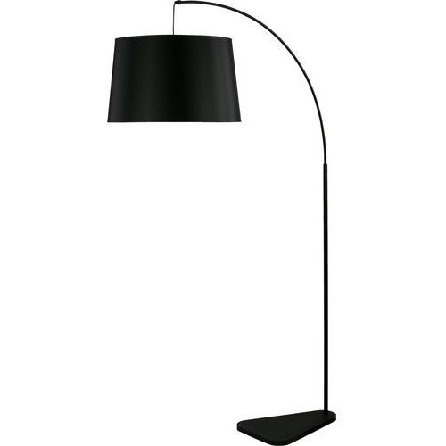 Lampa stojąca podłogowa TK Lighting Maja new 1x60W E27 czarna 2941, kolor Czarny