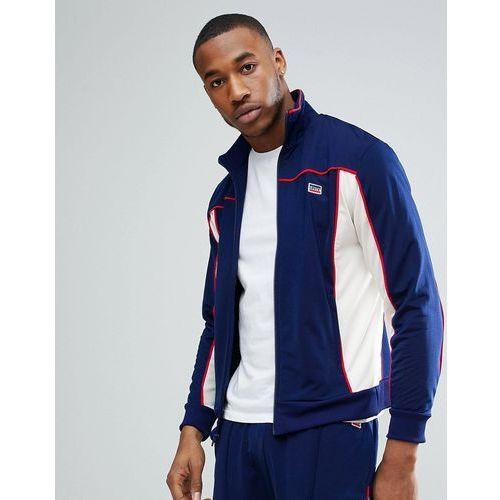 Levis Levi's sportswear track jacket in navy - navy