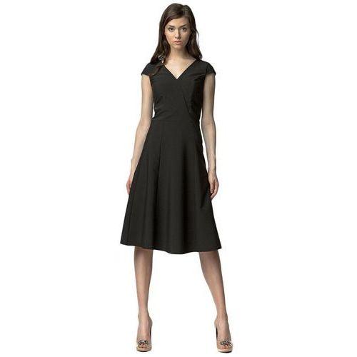 Nife Sukienka midi - czarny - s60