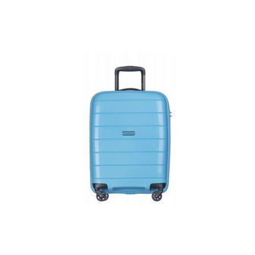 walizka mała/ kabinowa twarda z kolekcji madagascar madagaskar pp013 4 koła zamek szyfrowy tsa materiał polipropylen marki Puccini