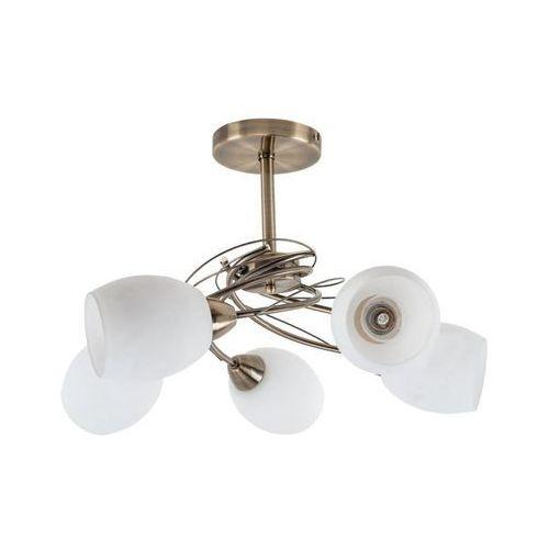 Lampa oprawa wisząca spot light pisa 5x60w e27 patyna/biały 8280511 marki Spotlight