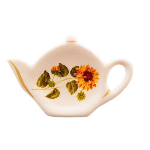 podstawka słonecznik pod torebkę herbaty marki Mieroszów