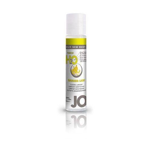 SexShop - Lubrykant smakowy - System JO H2O Lubricant Banana 30 ml BANAN - online z kategorii Żele erotyczne