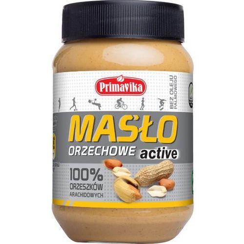- masło orzechowe 100% active 470g wyprodukowany przez Primavika