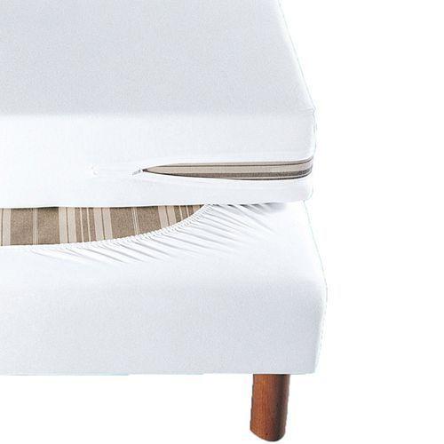 Pokrowiec na materac z fozciągliwego dżerseju, z powłoką antyroztoczową marki La redoute interieurs