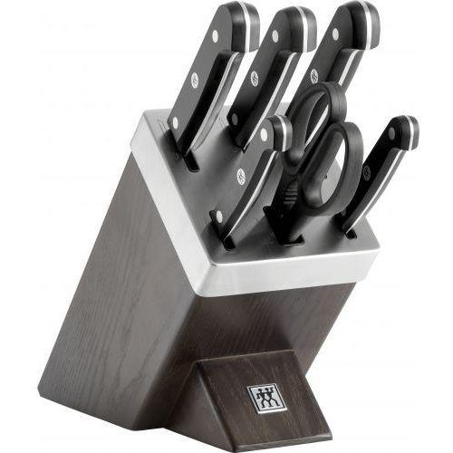 Zwilling - TWIN Gourmet - zestaw noży w bloku ostrzącym (5 noży i nożyce) (4009839408182)