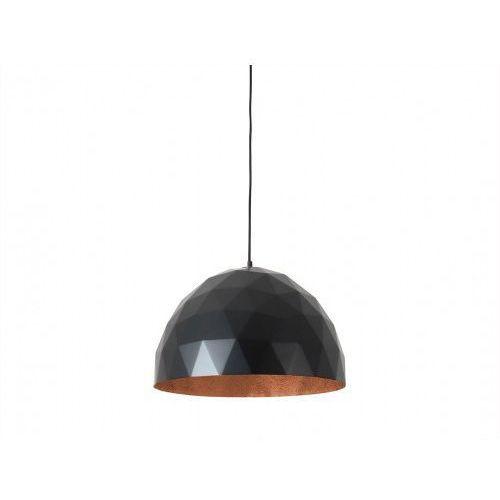 Lampa wisząca LEONARD (L), miedziano-czarny