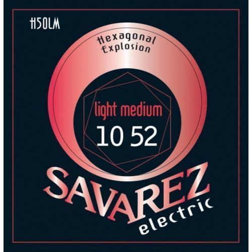 Savarez Med-Light (676547) Struny do gitary elektrycznej Hexagonal Explosion Nickel Med-Light.010-.052
