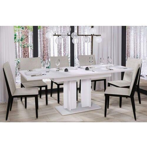 Stół aurora rozkładany 130-210 biały połysk marki Endo