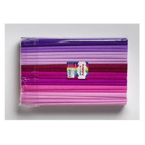 Happy color Bibuła marszczona 25 x 200 cm mix różowy nr 23 - od 24,99zł darmowa dostawa kiosk ruchu
