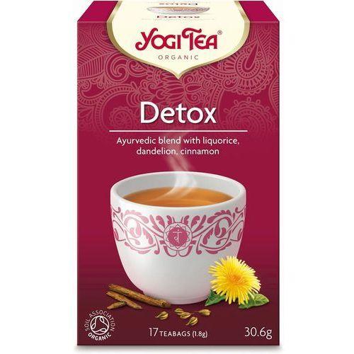 Yogi tea dystrybutor: bio planet s.a., wilkowa wieś 7, 05-084 leszno k Herbatka detox bio (17 x 1,8 g) - yogi tea