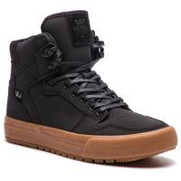 Sneakersy - vaider cw 08043-035-m black/black gum marki Supra