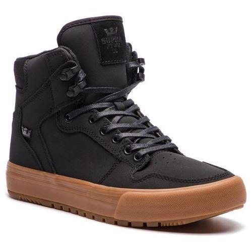 Sneakersy - vaider cw 08043-035-m black/black gum, Supra, 41-46