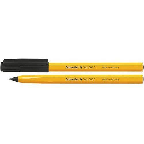 Długopis SCHNEIDER Tops 505, F, czarny, SR150501