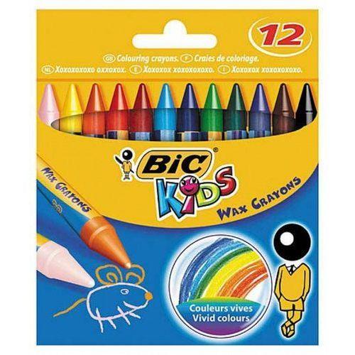 Kredki świecowe 12 kolorów (3086126616834)