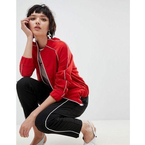 New Look Side Stripe Trousers - Black, kolor czarny