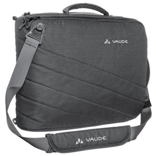 Torba - plecak na laptop petronio - szary - szary marki Vaude