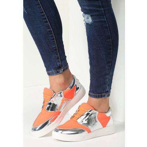 Pomarańczowe Buty Sportowe Romance, w 6 rozmiarach