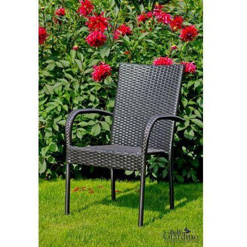 Krzesło z technorattanu do ogrodu, MS.008.103.KR