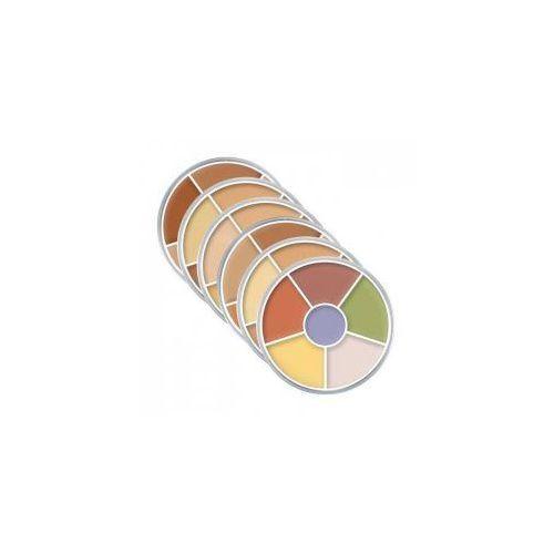 Kryolan , dermacolor camouflage rainbow set, paleta kamuflaży, 40g