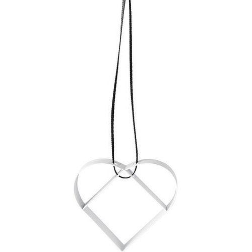 Stelton Ozdoba choinkowa serce s biała (5709846022751)