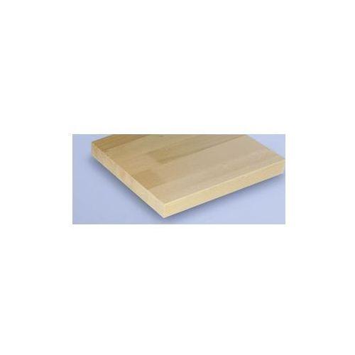 Kompaktowy stół warsztatowy, blat z litego drewna bukowego,szer. 1140 mm, z półką marki Anke werkbänke - anton kessel