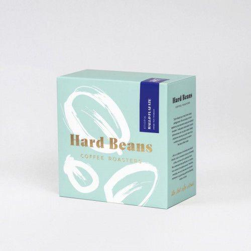 Kawa etiopia hallo fuafate 250g ziarno marki Hard beans