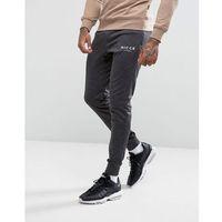 skinny joggers - black, Nicce london, S-XL