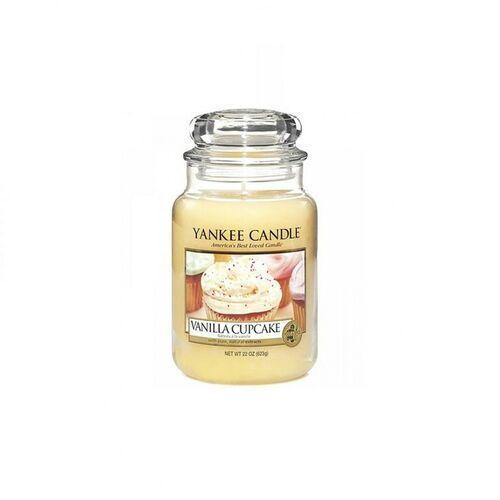 Yankee Candle Vanilla Cupcake aromatyczna świeca zapachowa słoik duży 623 g, 11131