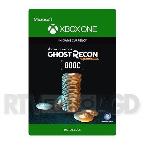 Tom clancy's ghost recon wildlands - pakiet kredytów gr 800 [kod aktywacyjny] marki Microsoft