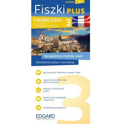 Francuski Fiszki PLUS dla średnio zaawansowanych 3 - Dostawa 0 zł